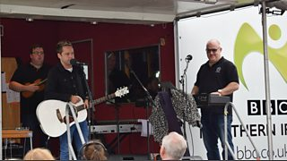 BBC Radio Ulster - Hugo Duncan, Hugo Duncan in Irvinestown, Hugo