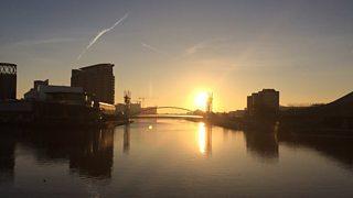 Salford Sunrise