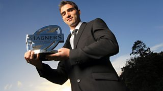Ruan Pienaar wins the Magners League Players' Player of the Year Award