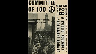 Poster for the Committee of 100, 1961