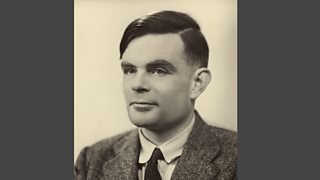 Alan Turing pictured in the early 1950s. Image © Science Photo Library