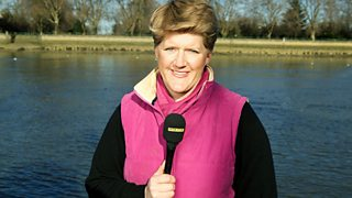 Clare Balding, pictured in 2006