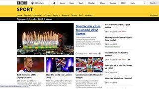 BBC Sport Olympics London 2012