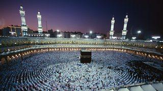 Dathlu Laylat al - Qadr yn Mecca.