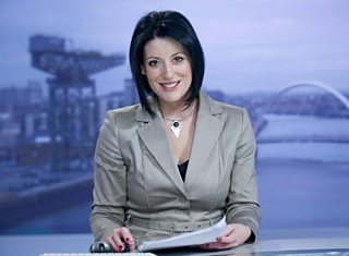 Catriona Shearer on the Reporting Scotland set