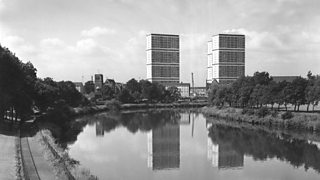 Tower blocks in the Gorbals area of Glasgow