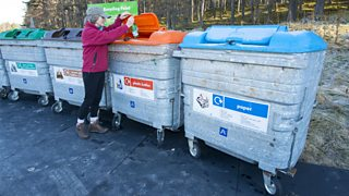 Local councils are responsible for refuse collection including recycling