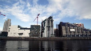 Redevelopment on the River Clyde, Glasgow