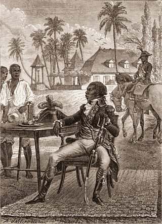 Toussaint Breda who led a slave revolt on the Island of Saint Dominigue.