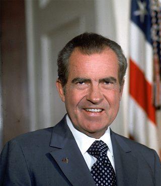 An Ceann-suidhe Richard Nixon