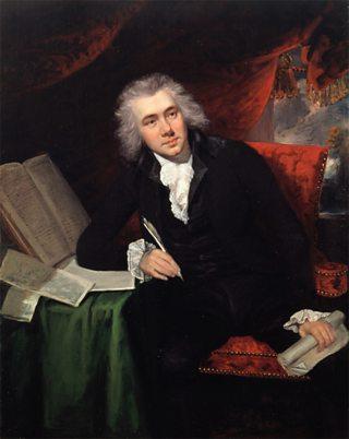 William Wilberforce a bha os cionn na h-iomairt airson cur às do thràillealachd