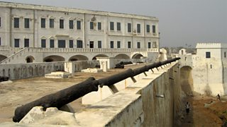 Cape Coast Castle in Ghana, a slave factory