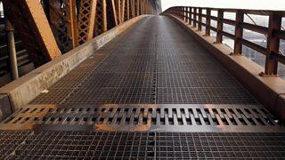 Bridge expansion joint.
