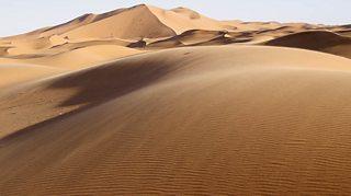 Desert in Merzouga, Morocco