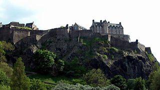 Edinburgh Castle on a sunny day