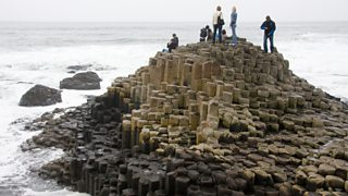 Giants Causeway which is made of basalt, an igneous rock
