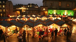Bath Christmas market is a key tourist attraction