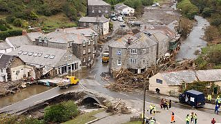 boscastle flood 2004 case study effects