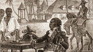 Toussaint L'Overture who led a slave revolt on the Island of Saint Dominigue