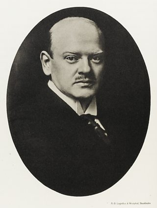 Portrait of Gustav Stresemann.