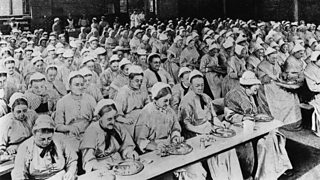 Dinner time at the workhouse