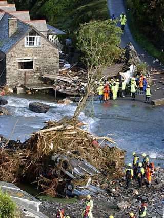 boscastle flood case study bbc