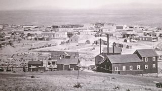 Township of tombstone, Arizona, near to where the gunfight at the OK Corral took place on 26 October 1881.