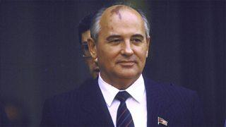 Mikhail Gorbachev, former leader of the USSR