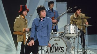 A photo of The Kinks