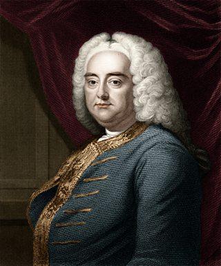 A portrait of composer Friedrich Handel