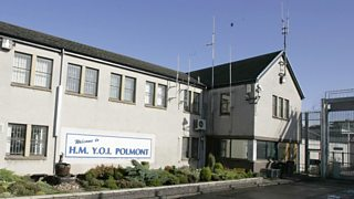 Polmont, the Young Offenders Institute in Scotland