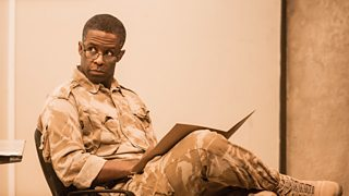Adrian Lester in the National Theatre production of Othello, 2013