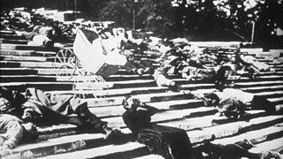 The Odessa Steps scene from Battleship Potemkin, 1925