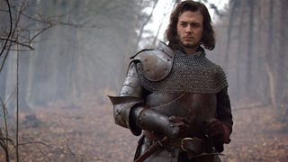 Michael Marcus as Henry Tudor in the television drama The White Queen, 2013