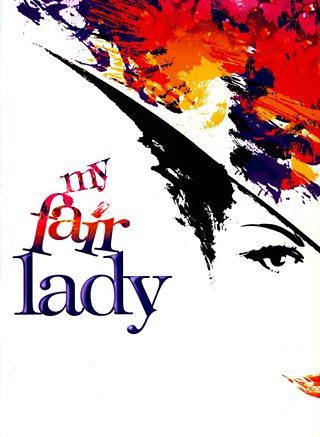 Clawr rhaglen My Fair Lady