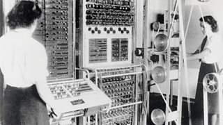 The Colossus computer, photographed in 1943