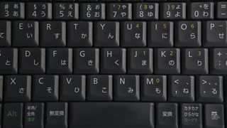 Keyboard with Japanese characters