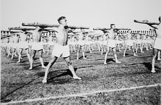 Young men took part in Hitler Youth camps