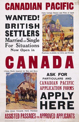 Canada was a promoted destination