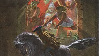 Tam flees from the witches and the devils