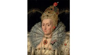 Portrait of an older Queen Elizabeth I (16th century)