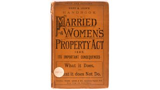 Front cover of the Married Women's Property Act