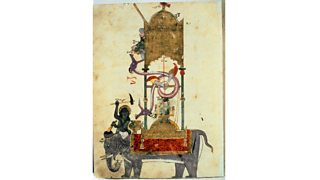 The Elephant Clock from The Book of Knowledge of Ingenious Mechanical Devices by Ibn-al-Razzaz Al-Jazari (1136-1206)
