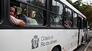 A bus in Rio
