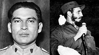 Composite image of Batista and Castro