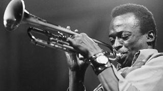 American jazz musician and composer Miles Davis