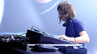 Aphex Twin at the Pitchfork Music Festival