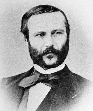Swiss philanthropist Henri Dunant