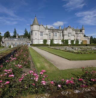 Balmoral castle, with its stately appearance and well-cured grounds, were a symbol of how fashionable Scotland had become