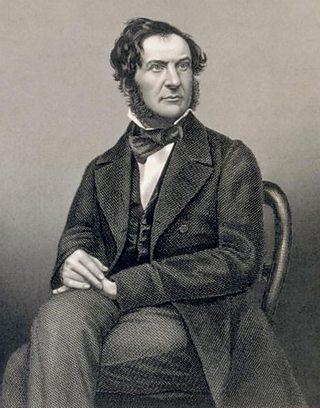 Portrait of William Gladstone